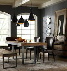 industrial chic home decor furniture for modern dining table decorations