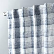 red and plaid curtains navy white curtain panel