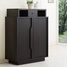 furniture shoe cabinet. Furniture Of America Arthurie Espresso Enclosed 5shelf Shoe Cabinet