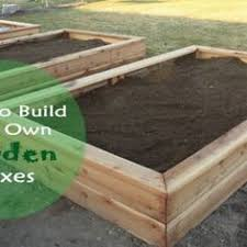 how to make a box garden. Fine How How To Make Your Own Garden Boxes Intended To A Box