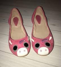 Cute Bloch Pink Suede Unicorn Ballerina Shoes Size 36 4 4 5