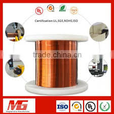 0 4mm Enameled Rectangular Copper Insulated Magnet Wire Of