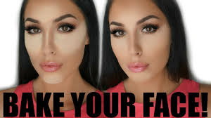 how to bake cook your face with makeup tutorial as seen on kim kardashian you