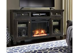 Townser TV Stand with Fireplace Option