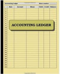 Bookeeping Ledger Business Ledger Book Rome Fontanacountryinn Com