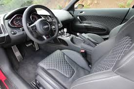 audi r8 convertible interior. the diamondpattern stitched leather interior is something no r8 owner should go without audi convertible