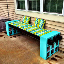 Cinder Block Furniture Backyard At Innovative Amazing Ideas Garden