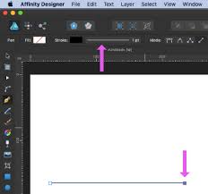You can also use it to draw lines between two points on an image. How To Draw A Straight Dotted Line In Affinity Designer