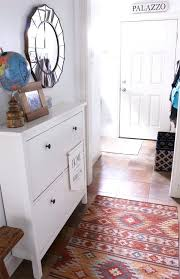 entry hall cabinet. Entry Hall Cabinet Organizing A Small Makeover Townhouse Update Front E