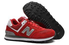 new balance shoes red. women\u0027s new balance wl574 casual shoes red / silver