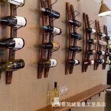 2018 stars professional design custom decorative wood wall hanging wall mounted wine rack fashion creative bar from zhoudan5245 183 08 dhgate com