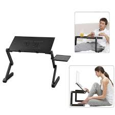foldable office table. Adjustable Portable Folding Laptop Desk Table Stand Bed Tray For PC Noteboo Foldable Office U