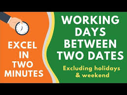 How To Calculate The Number Of Days Between Two Dates In Excel