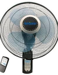 hurricane hurricane super 8 oscillating digital wall mount fan 16