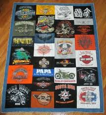 T-shirt Quilts: 14 Steps & New Addition: My newest quilt finished in 2014 for the Harley Davidson  lover in my family. Adamdwight.com