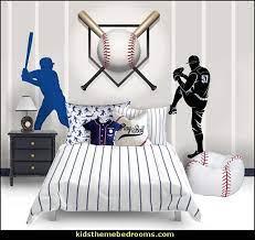 boys baseball theme bedrooms
