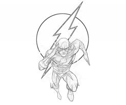 Small Picture Flash Symbol Coloring Page Coloring Pages with regard to The Flash