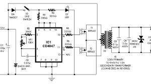 Inverter Circuit Design Using Mosfet Simple Inverter 100w With Fet Irf540 Inverter Circuit And