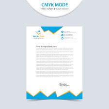 Letterhead Design Free Wisxi Business Letterheads Template Print
