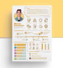 Infographic Resumeplate Creative Examples Inspiration Download