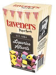 taveners liquorice allsorts gift box 250g