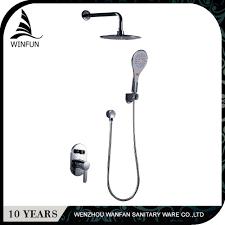 shower head chrome brass mixer tap: chrome rainfall amp waterfall shower head brass mixer valve abs handhe
