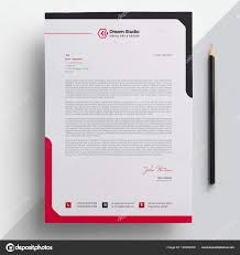 What Is Professional Letterhead Professional Letterhead Template Vector Stock Vector