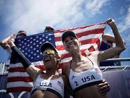 U.S. Women Take Olympic Gold In Beach ...