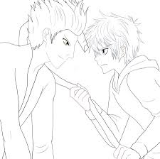 Pitch Dark and Jack Frost lineart by AngelofHapiness on DeviantArt