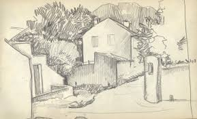landscape drawing book the providential louise bryant papers mcripts and archives