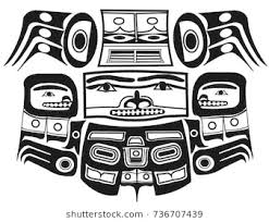 Aztec Tattoo Patterns Delectable Totem Mask Ethnic Themes Tattoo Ethnic Stock Vector Royalty Free