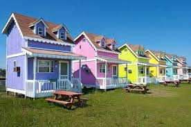 tiny house retirement community. Tiny House Beach Cottage Community Of Colorful Cottages In North Homes . Retirement E