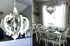 distressed wood chandelier wood chandelier sphere