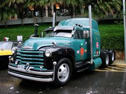 pic of old trucks | Free Old Three Axle Chevy Truck_____ Wallpaper ...