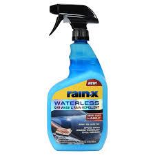 rain x waterless car wash rain repellent 32 fl oz 620100 com