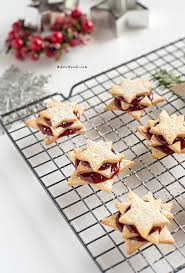 Decorative Boxes For Baked Goods German Terrassen Kekse Christmas cookies Recipe Shortbread 26