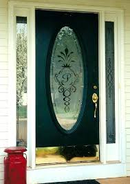 oval glass front door brilliant doors etched glass design by premier throughout oval insert for front oval glass front door