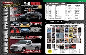 Universal Products Vinyl Color Chart Vinyl Graphics Auto Graphics Catalog Part1