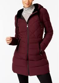 inc international concepts i n c velvet trim puffer coat created for macy s