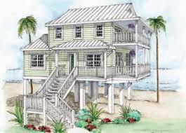 Beach House Floor Plans Stilts Low Country Plan  Architecture House Plans On Stilts