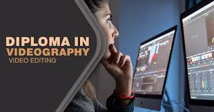 diploma in videography and video editing training this diploma in videography and editing program provides students the opportunity to create projects using digital video dv high definition video