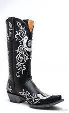 low (3 4 in to 1 1 2 in ) bridal or wedding boots for women ebay Wedding Boots Black l1782 3 old gringo lucky 13\