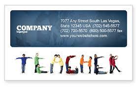 Teacher Of Class Business Card Template Layout Download