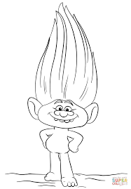Small Picture Guy Diamond from Trolls coloring page Free Printable Coloring Pages