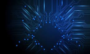 Illustrator Special Effects 14 Vector Circuit Board Background