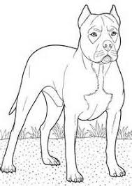 Free Printable Boxer Dog Coloring Pages Animal For Kids 22