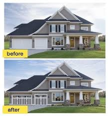 Home Exteriors Before And After Style Simple Ideas