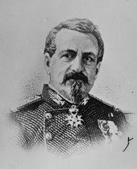 VALENTIN (Louis, Ernest - général). Préfet de police délégué dans les fonctions. Né le 26 décembre 1812 à Paris. Décédé le 21 décembre 1885 à Montauban ... - .valentin_s