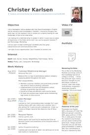 Customer Relationship Manager Resume samples