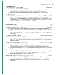 Resume Massage Therapy Resume